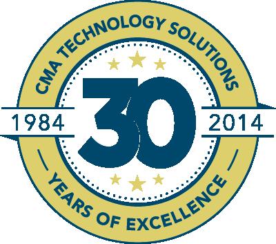 CMA 30th Anniversity Logo